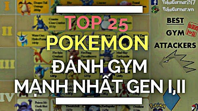 top-pokemon-go, pokemon-go-vietnam, pokecorner, pokemon-go-vietnam
