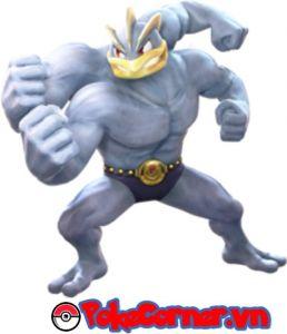 Machamp - top 3 gym attacker in Pokemon Go