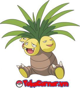 Exeggutor - top 9 gym attacker in Pokemon Go