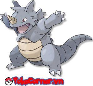 Rhydon - top 14 gym attacker in Pokemon Go