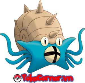 Omastar - top 19 gym attacker in Pokemon Go