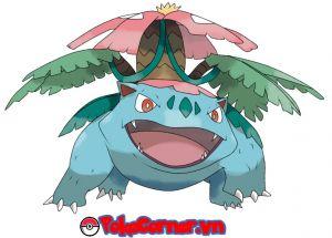 Venusaur - top 20 gym attacker in Pokemon Go