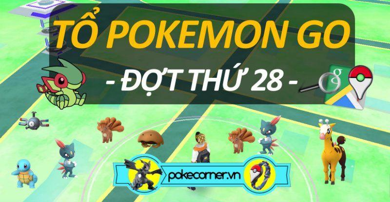 Tổ Pokemon GO - 28 - PokeCorner.vn -v2 Pokemon GO Plus - Mô hình Pokemon - Móc khóa Pokemon Metal Charm
