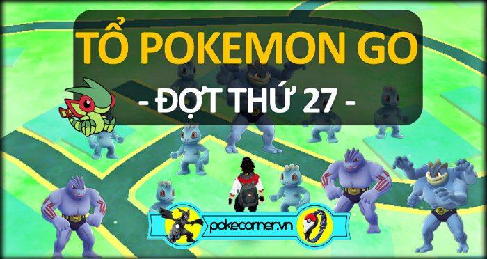 Tổ Pokemon Go 27 - Cập nhật Pokemon GO - PokeCorner.vn - Pokemon GO Plus - Mô hình Pokemon Takara Tomy - Móc khóa Pokemon Metal charm