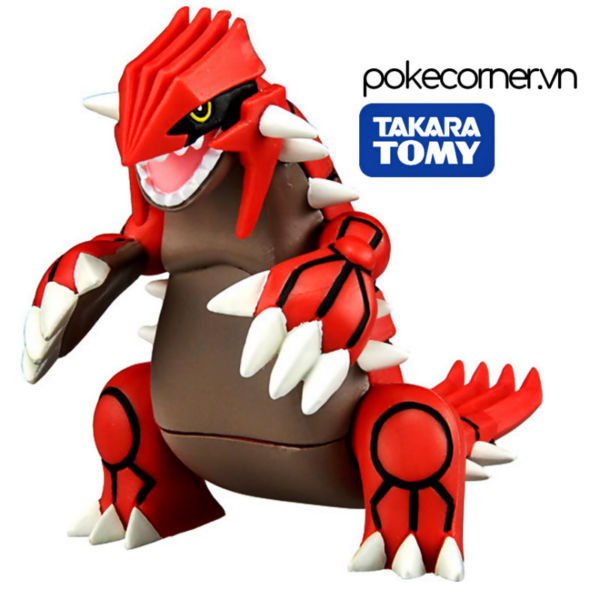 Mô hình Pokémon Groudon