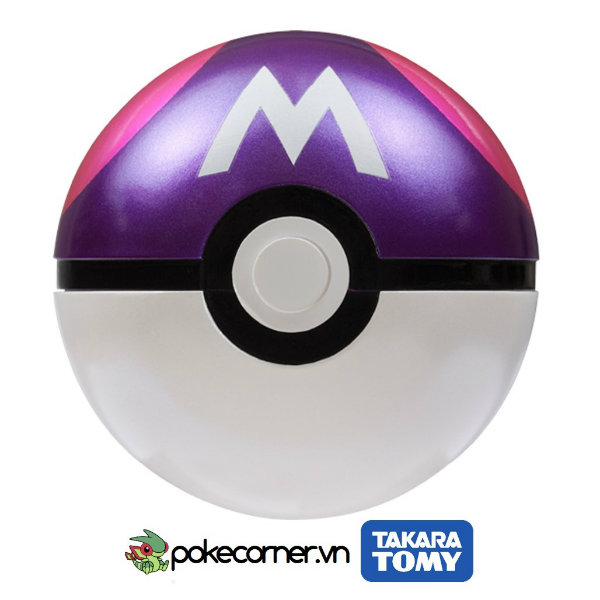 1- Mô hình Pokemon Masterball - Pokemon Figure - Takara Tomy - PokeCorner.vn - Pokemon Metal charm - Moc khoa Pokemon - Pokemon GO Plus