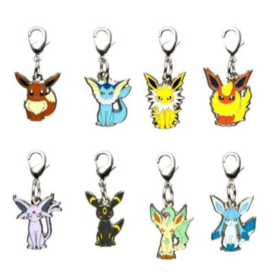 1-MC001 - Set Eevee 2011 - Pokémon Metal Charm - Móc Khóa Pokémon - PokeCorner