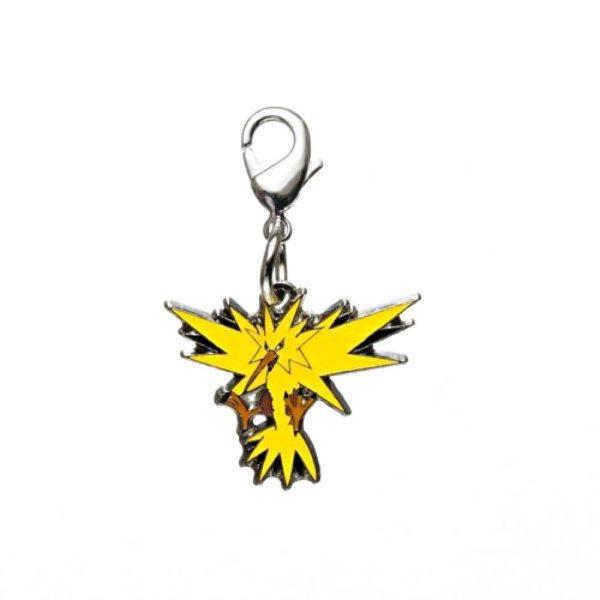 1-MC005 - Zapdos - Pokémon Metal Charm - Móc Khóa Pokémon - PokeCorner