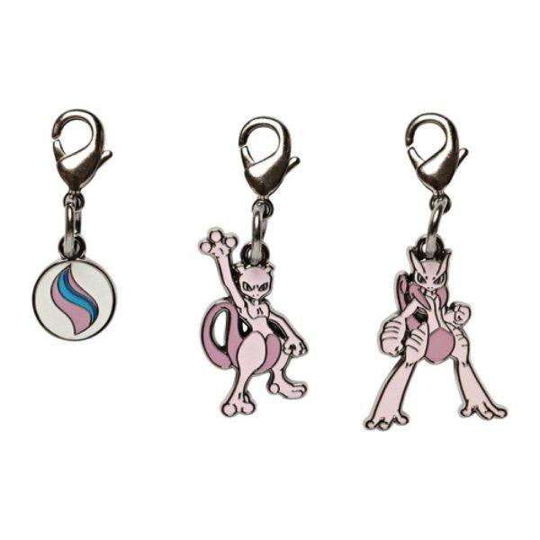 1-MC010 - Set Mega Mewtwo Y - Pokémon Metal Charm - Móc Khóa Pokémon - PokeCorner