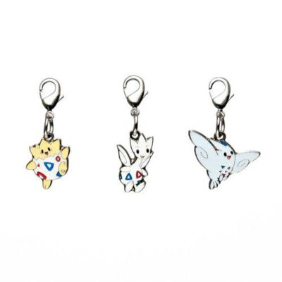 1-MC011 - Set Togepi - Pokémon Metal Charm - Móc Khóa Pokémon - PokeCorner