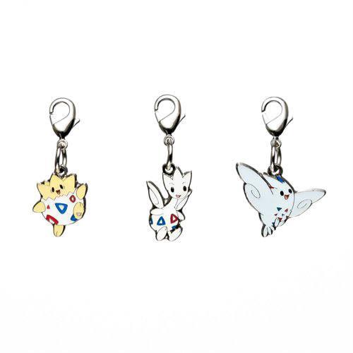 1-MC011 - Set Togepi - Pokémon Metal Charm - Móc Khóa Pokémon - PokeCorner
