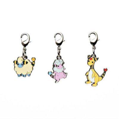 1-MC012 - Set Mareep - Pokémon Metal Charm - Móc Khóa Pokémon - PokeCorner