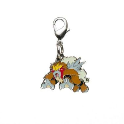 1-MC014 - Entei - Pokémon Metal Charm - Móc Khóa Pokémon - PokeCorner