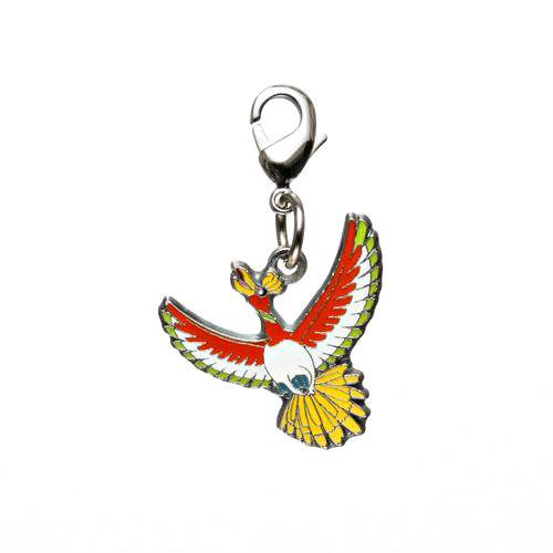 1-MC018 - Ho-Oh - Pokémon Metal Charm - Móc Khóa Pokémon - PokeCorner