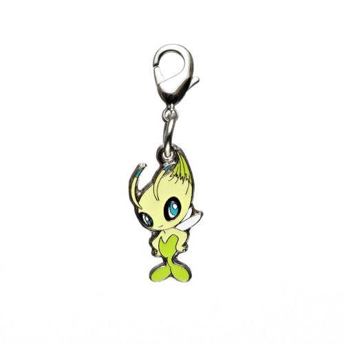 1-MC019 - Celebi - Pokémon Metal Charm - Móc Khóa Pokémon - PokeCorner