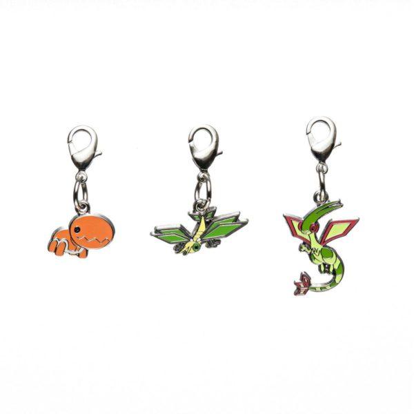 1-MC020 - Set Flygon - Pokémon Metal Charm - Móc Khóa Pokémon - PokeCorner