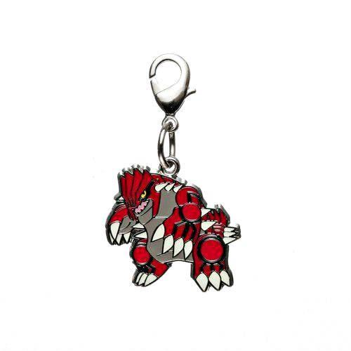 1-MC028 - Groudon - Pokémon Metal Charm - Móc Khóa Pokémon - PokeCorner