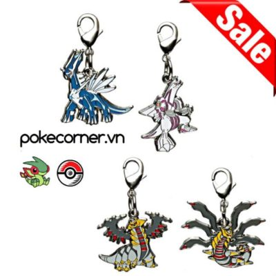 1-MC040 - Gói Creation Trio - Pokémon Metal Charm - Móc Khóa Pokémon - PokeCorner