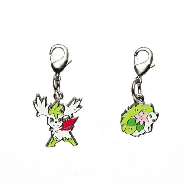 1-MC044 - 2 Form Shaymin - Pokémon Metal Charm - Móc Khóa Pokémon - PokeCorner