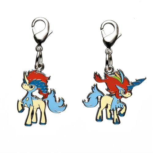 1-MC052 - Keldeo - Pokémon Metal Charm - Móc Khóa Pokémon - PokeCorner
