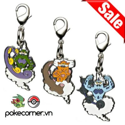 1-MC057 - Gói Force of Nature - Pokémon Metal Charm - Móc Khóa Pokémon - PokeCorner