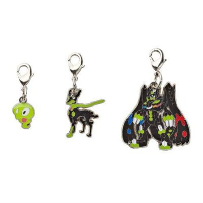 1-MC068 - Set Zygarde - Pokémon Metal Charm - Móc Khóa Pokémon - PokeCorner