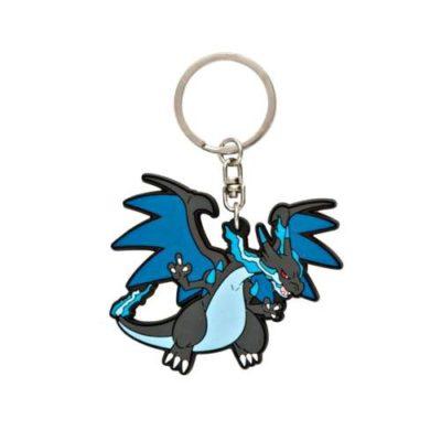 1-MC070 - Mega Charizard X - Pokémon Metal Charm - Móc Khóa Pokémon - PokeCorner