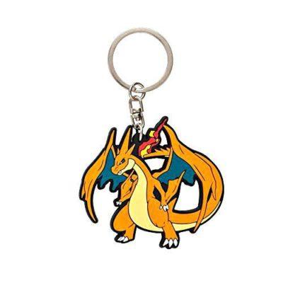 1-MC071 - Mega Charizard Y - Pokémon Metal Charm - Móc Khóa Pokémon - PokeCorner