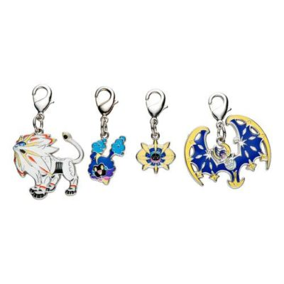 1-MC078 - Set Sun Moon - Pokémon Metal Charm - Móc Khóa Pokémon - PokeCorner