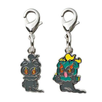 1-MC089 - Marshadow - Pokémon Metal Charm - Móc Khóa Pokémon - PokeCorner
