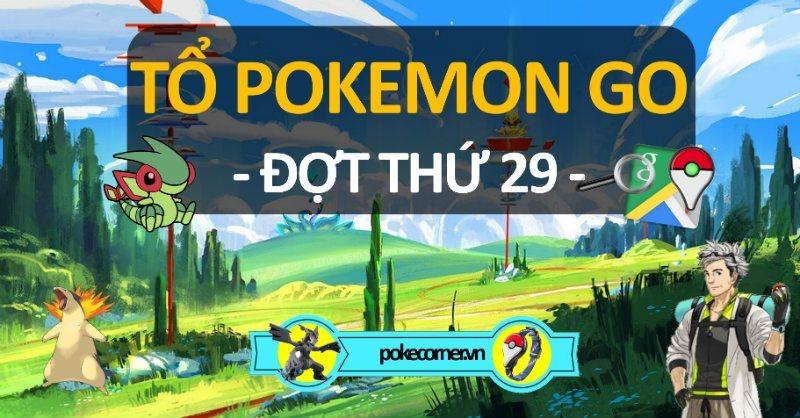 Tổ Pokemon GO - 29 - PokeCorner.vn -v2 Pokemon GO Plus - Mô hình Pokemon - Móc khóa Pokemon Metal Charm