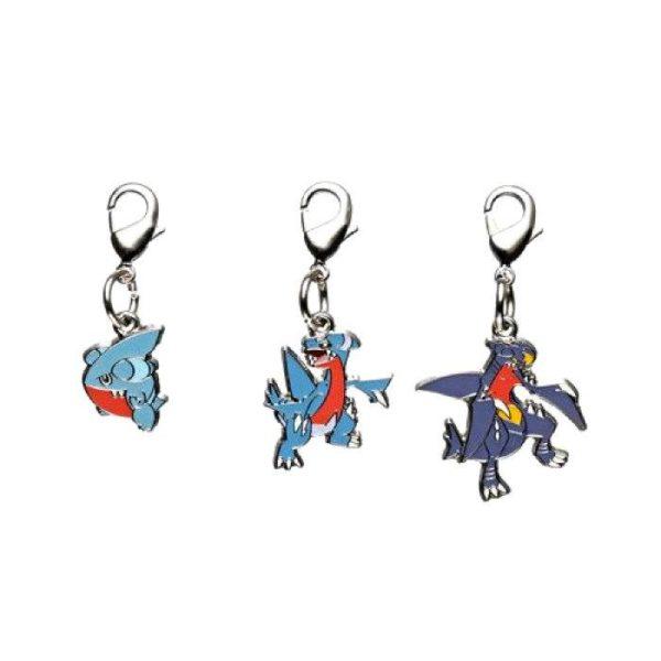 1-MC090 - Set Garchomp - Pokémon Metal Charm - Móc Khóa Pokémon - PokeCorner