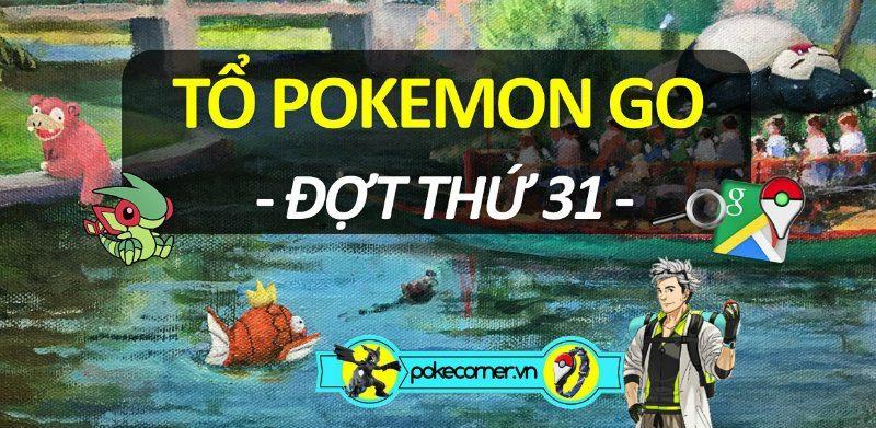 Hình nên - Tổ Pokemon GO - 31 - PokeCorner.vn - Pokemon GO Plus - Móc khóa Pokemon - Mô hình Pokemon