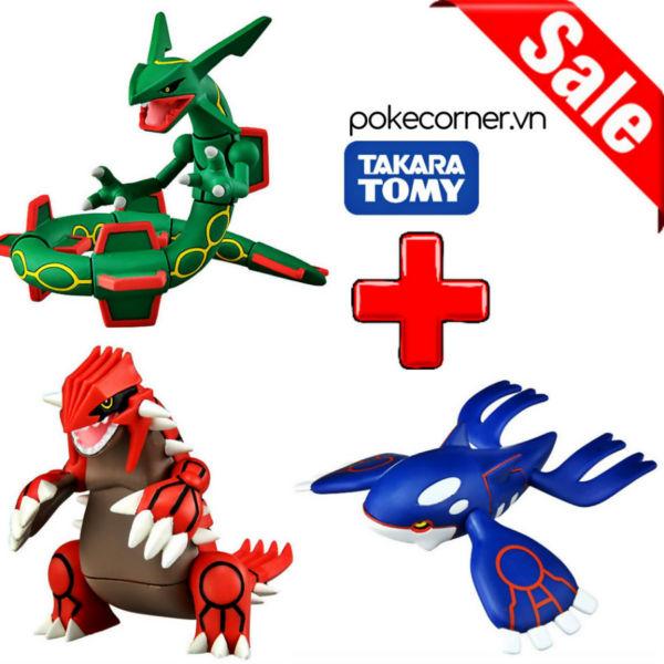 Gói Mô hình Pokémon Weather Trio