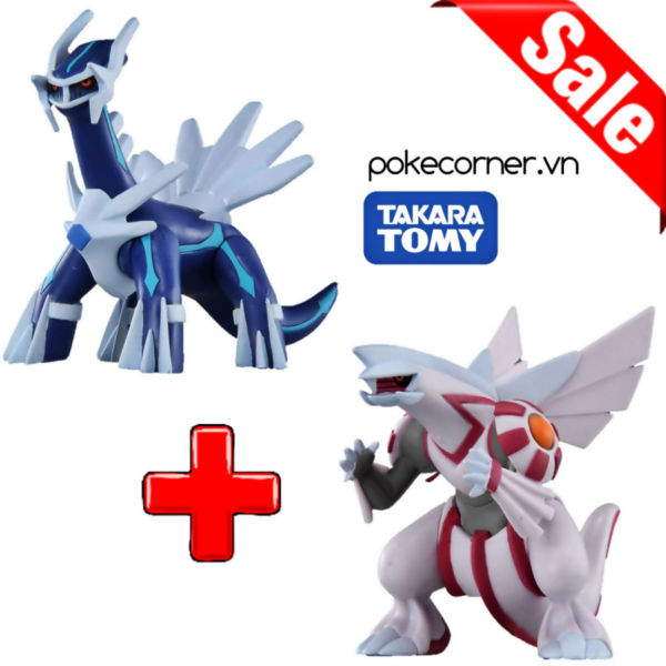 Gói Mô hình Pokémon Dialga Palkia