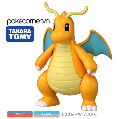 Mô hình Pokémon Dragonite (Metal)