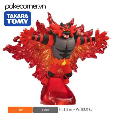Mô hình Pokémon Incineroar Z Move