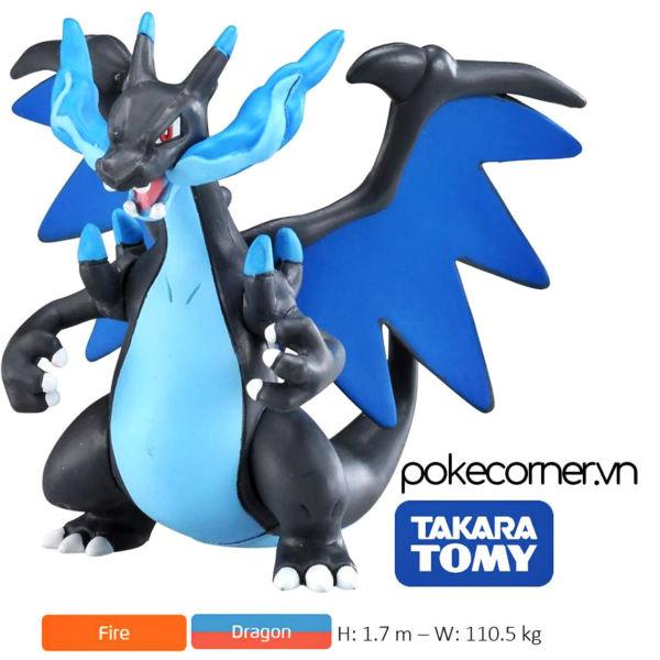 Mô hình Pokémon Mega Charizard X