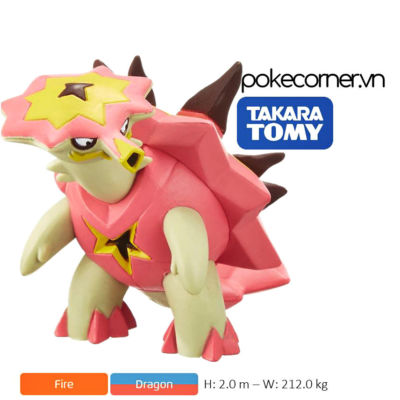 Mô hình Pokémon Turtonator
