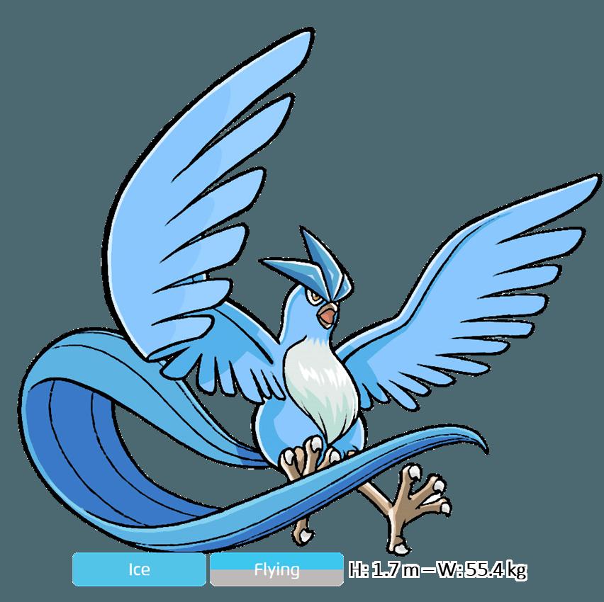 Pokémon huyền thoại Articuno