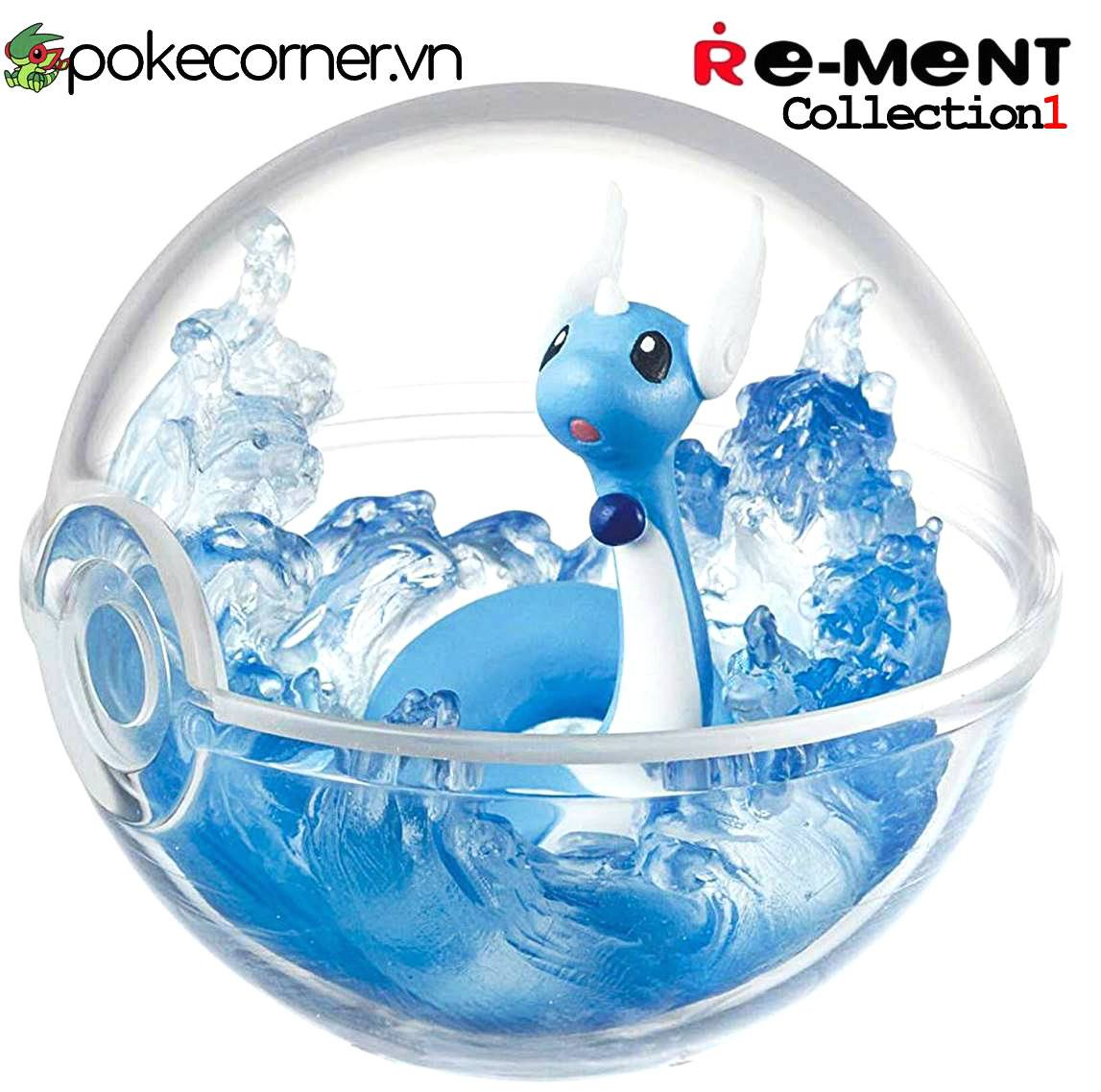 Quả Cầu Pokémon Re-Ment Pokémon Terrarium Collection 1 - Dragonair
