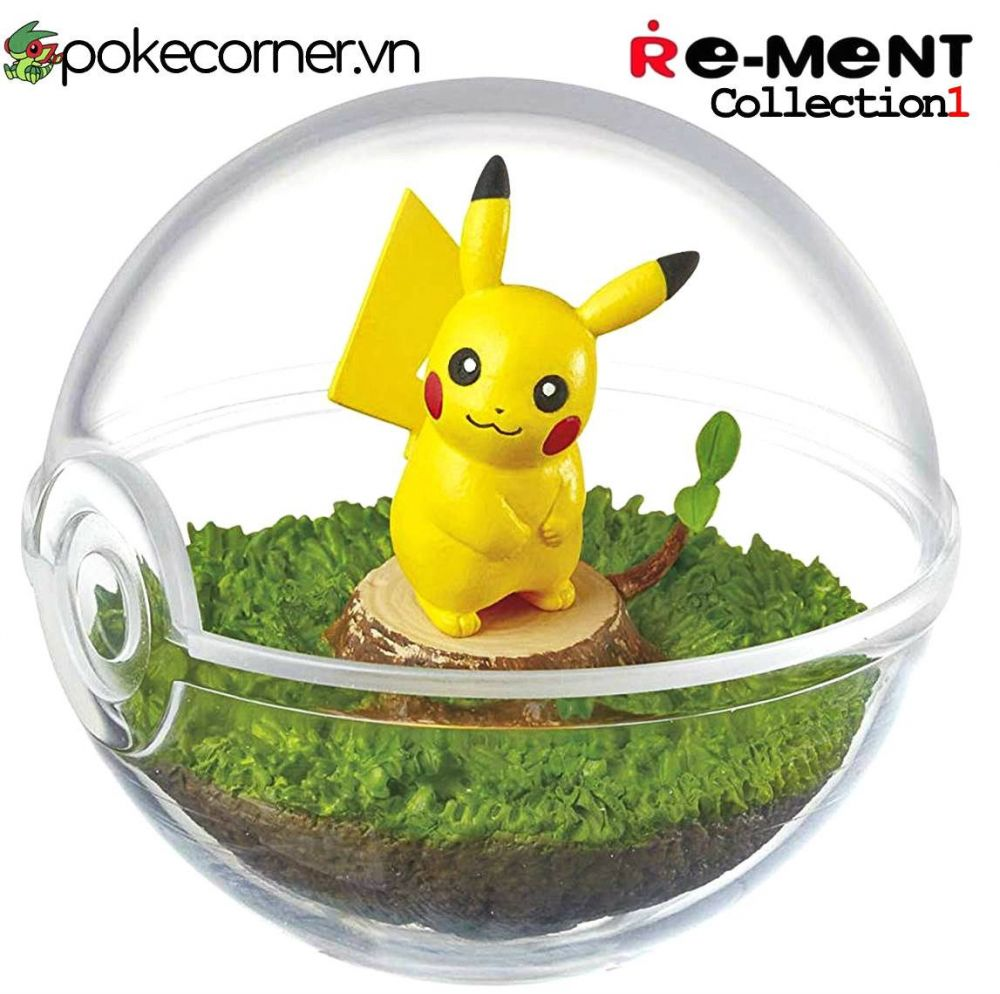 Quả Cầu Pokémon Re-Ment Pokémon Terrarium Collection 1 - Pikachu