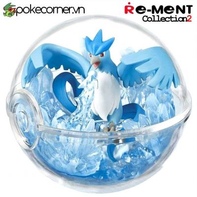 Quả Cầu Pokémon Re-Ment Pokémon Terrarium Collection 2 - Articuno