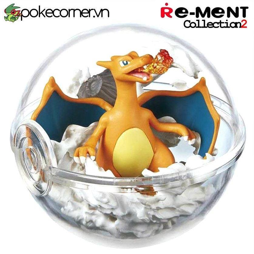 Quả Cầu Pokémon Re-Ment Pokémon Terrarium Collection 2 - Charizard