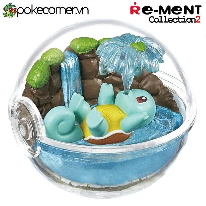 Quả Cầu Pokémon Re-Ment Pokémon Terrarium Collection 2 - Squirtle