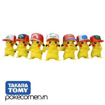 Mô hình Pokémon Set 7 Ash's Pikachu Anniversary 20th