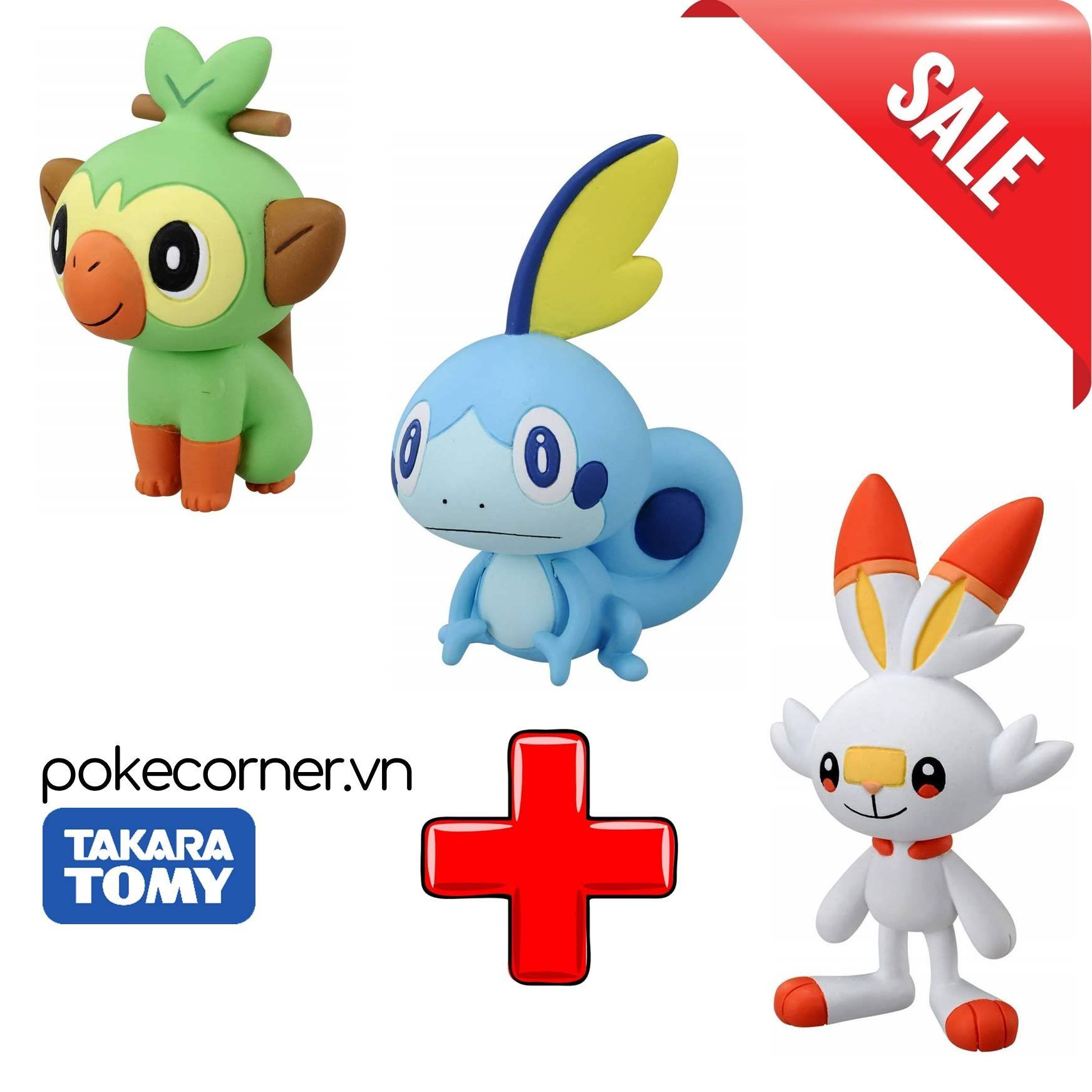 Gói Mô hình Pokémon Starter Gen 8 Galar