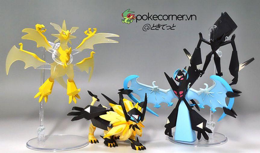 Mô hình Pokémon Sun Moon và Ultra Sun Ultra Moon