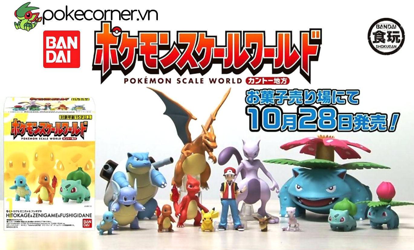 Mô hình Pokémon Bandai Scale World 1-20 - Mô hình Bandai Scale World
