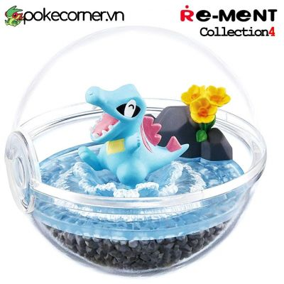 Quả Cầu Pokémon Re-Ment Pokémon Terrarium Collection 4 - Totodile